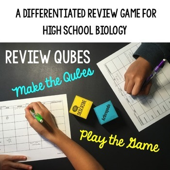 Mitosis and Meiosis Review Qubes