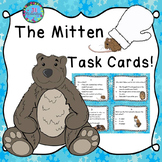 The Mitten by Jan Brett Activities:  Task Cards (Reading C
