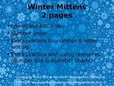 Mitten ABC & Number order