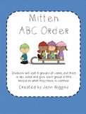Mitten ABC Order Activity