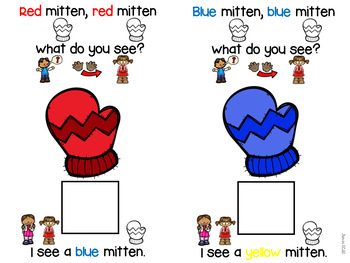 Mitten Activities for Preschool