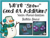 Mitten Addition Bulletin Board Craft