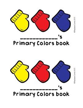 Mitten Art   Line, Texture, Color & Value, Primary Colors