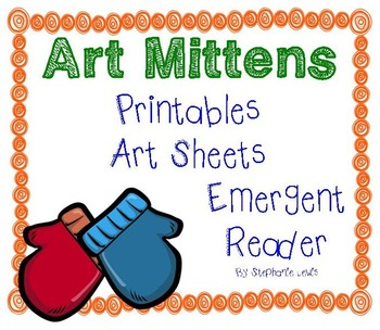 Mitten Art | Line, Texture, Color & Value, Primary Colors