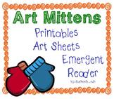 Mitten Art | Line, Texture, Color & Value, Primary Colors