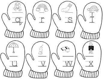 Mitten Beginning Sounds