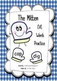 Mitten - CVC Word Work Practice
