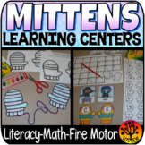 Mitten Centers Winter Centers Activities Math Literacy The Mitten Jan Brett