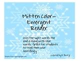 Mitten Color Emergent Readers