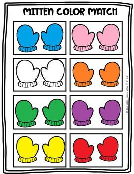 Mitten Color Match
