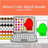 Mitten Color Match Bundle: Digital & Printable