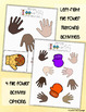 Winter File Folder Activity and Mitten Color Match Game- Left and Right
