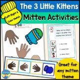 3 Little Kittens   Winter Mittens Activities   File Folder