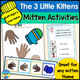 3 Little Kittens | Winter Mittens Activities | Color, Size