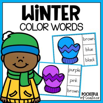 Mitten Color Words