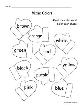 Mitten Coloring