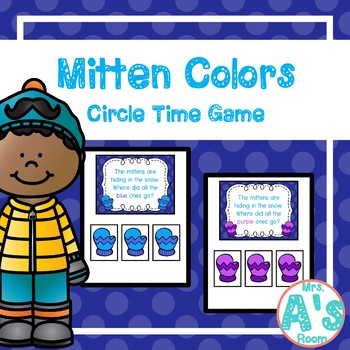 Mitten Colors Circle Time Game