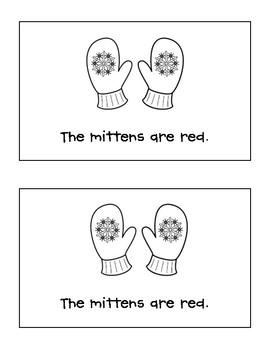 Mitten Colors booklet