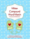 Mitten Compound Word Match