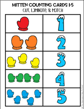 Mitten Counting 1-10