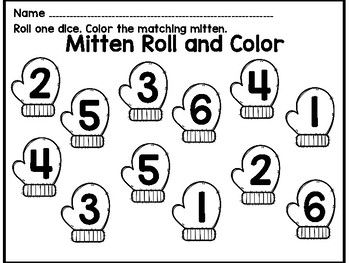 Mitten Counting Match