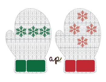 Mitten Counting and Lacing