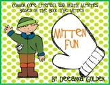 Mitten Fun, Common Core Literacy and Math Activities