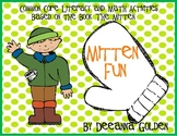 Mitten Fun, Common Core Literacy and Math Activities