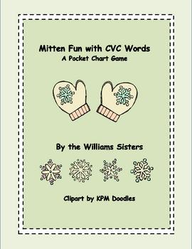 Mitten Fun with CVC Words