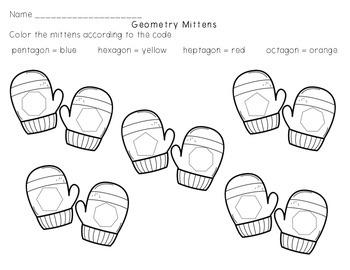 Mitten Geometry - Shape Identification