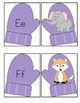 Phonics Winter Letter Picture Sound Match-Up For PreK/K Do