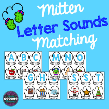 Mitten Letter Sounds Matching