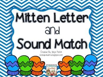 Mitten Letter andSound Match