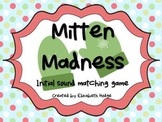 Mitten Madness: Initial Sound Matching Game