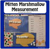 Mitten Marshmallow Measurement: A Winter Math Center Dollar Deal