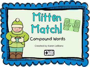 Mitten Match - COMPOUND WORDS