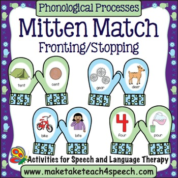 Fronting and Stopping - Mitten Match