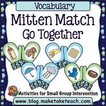 Vocabulary Mitten Match