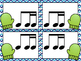 Mitten Match-Up - A matching game for practicing notes and beats