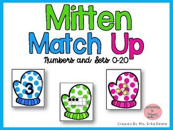 Mitten Match Up! Matching Numbers and Arrangements