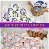 Mitten Match Up Winter Sensory Bin For Articulation, Langu