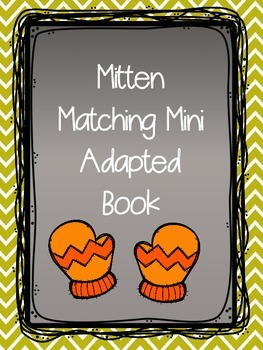Mitten Matching Adapted Book