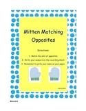 Mitten Matching Opposites