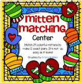 Mitten Matching - Pattern Pairs Center or Small Group