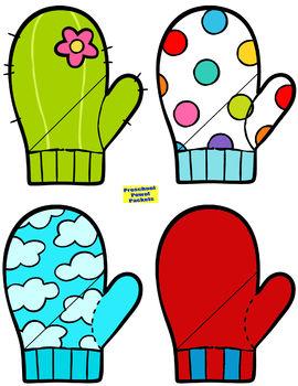 Mitten Matching Preschool Activity