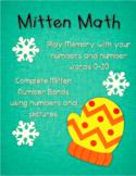 Mitten Math: Number Bonds