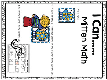 Mitten Math {A 0-20 Counting Center}