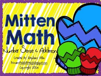 Mitten Math { Addition & Number Sense }