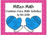 Mitten Math Common Core Math Activities