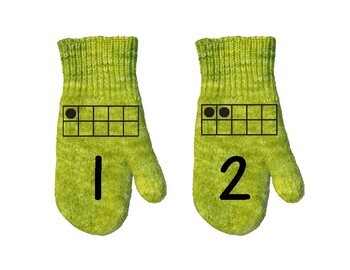 Mitten Math Counting Activity 1-20